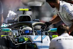 July 20, 2018 - Hockenheim, Germany - Motorsports: FIA Formula One World Championship 2018, Grand Prix of Germany, ..#77 Valtteri Bottas (FIN, Mercedes AMG Petronas Motorsport) (Credit Image: © Hoch Zwei via ZUMA Wire)
