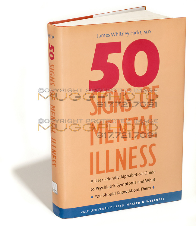 50 signs of mental illness self help book