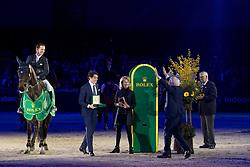 Van Asten Leopold, NED, VDL Groep Zidane, Arnaud Revedin, CEO Rolex Benelux, Anky Van Grunsven, President Indoor Brabant <br /> Indoor Brabant - Den Bosch 2017<br /> © Dirk Caremans<br /> 12/03/2017