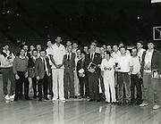 1983 Nazionale al Forum di Los Angeles<br /> karim abdul jaabar, cesare rubini