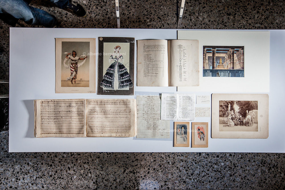 Milan, Brera, Biblioteca Braidense, Archicio Ricordi.