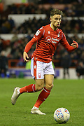 Nottingham Forest midfielder Matty Cash during the EFL Sky Bet Championship match between Nottingham Forest and Charlton Athletic at the City Ground, Nottingham, England on 11 February 2020.