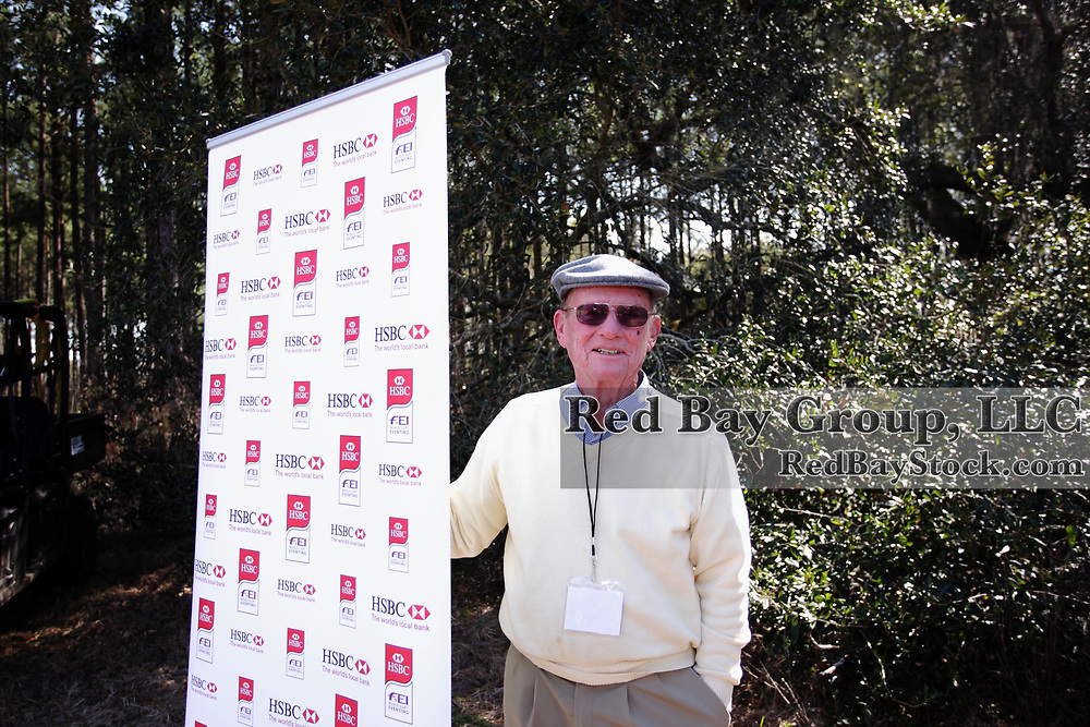 Volunteer, Bob Goughnour at the 2010 HSBC FEI World Cup Eventing Qualifier at Red Hills Horse Trials in Tallahassee, Florida