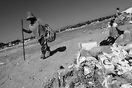 Impressions of a Mexican dump, where -- apart from the quantity of garbage deposited -- one can observe the kind of work some people have to do to survive.