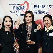 The Chinese sisters from Wuhan attend China-UK United We Stand together to fights the #Covid19 and very grateful to Xi Jinping CCP government fast action protection and of the Wuhan citizen and they confident we will defeated the #coronavirus at Guildhall, on 28th February 2020, London, UK.