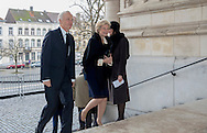 Brussels , 17-02-2017 <br /> <br /> Belgium Royal Family attend Holy Mess for passed away family members.<br /> <br /> <br /> PUBLICATION IN FRANCE ONLY!!!!<br /> <br /> COPYRIGHT: ROYALPORTRAITS EUROPE/ BERNARD RUEBSAMEN