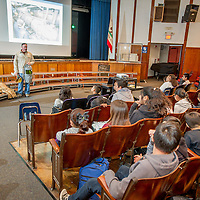 Pasadena Water & Power holds an educational assembly for the 6th graders of Washington Magnet Academy STEM in Pasadena, Oct. 4, 2016.  (Eric Reed/Pasadena Water & Power)
