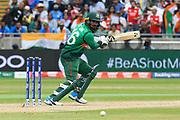 Liton Das of Bangladesh batting during the ICC Cricket World Cup 2019 match between Bangladesh and India at Edgbaston, Birmingham, United Kingdom on 2 July 2019.