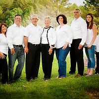 50th Wedding Anniversary Family Portrait June 2013