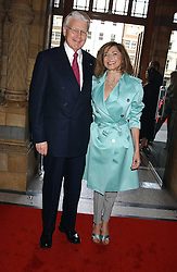DORIT MOUSAIEFF and her husband the President of Iceland MR OLAFUR RAGNAR GRIMSSON at the opening party for Diamonds - a new exhibition at The Natural History Museum, London in association with De Beers held on 6th July 2005.<br /><br />NON EXCLUSIVE - WORLD RIGHTS
