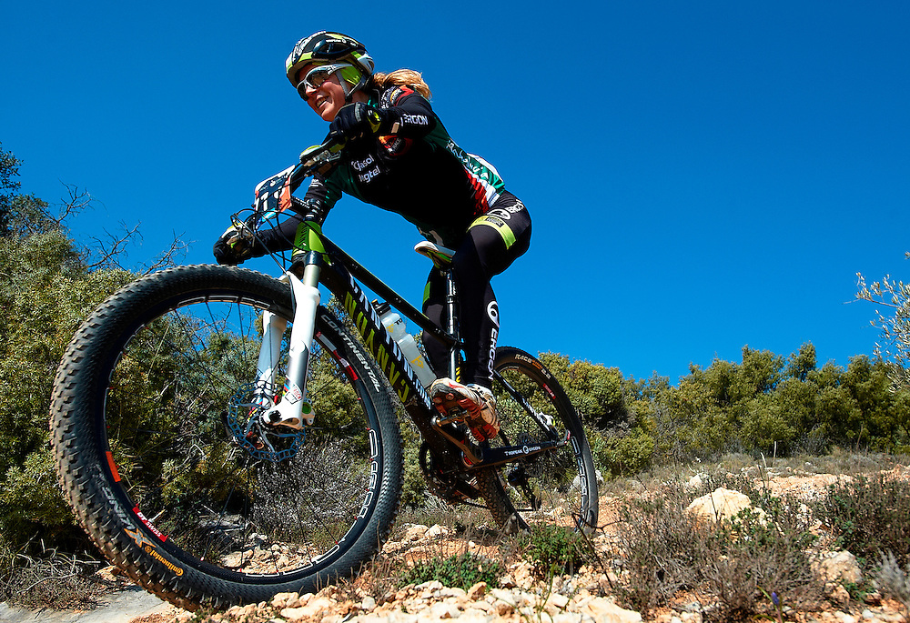JAEN, SPAIN - MARCH 3:  Andalucia Bike Race on March 3, 2011 in Jaen, Spain. (Photo by Xaume Olleros/SSP)