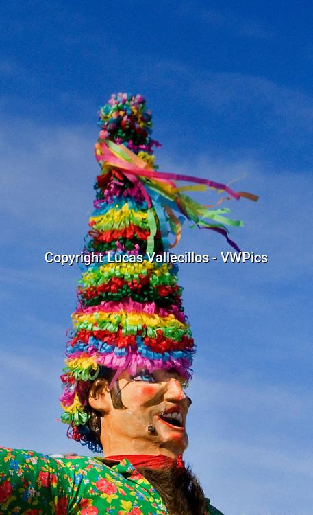 Miel Otxin and Txatxos. Lantz carnival. Navarra. Spain