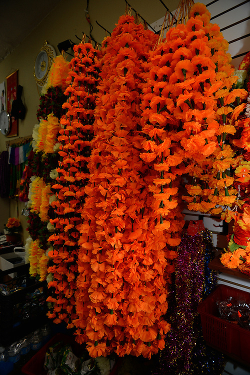 Items for sale at Nemaste Nepali-Indian Market.