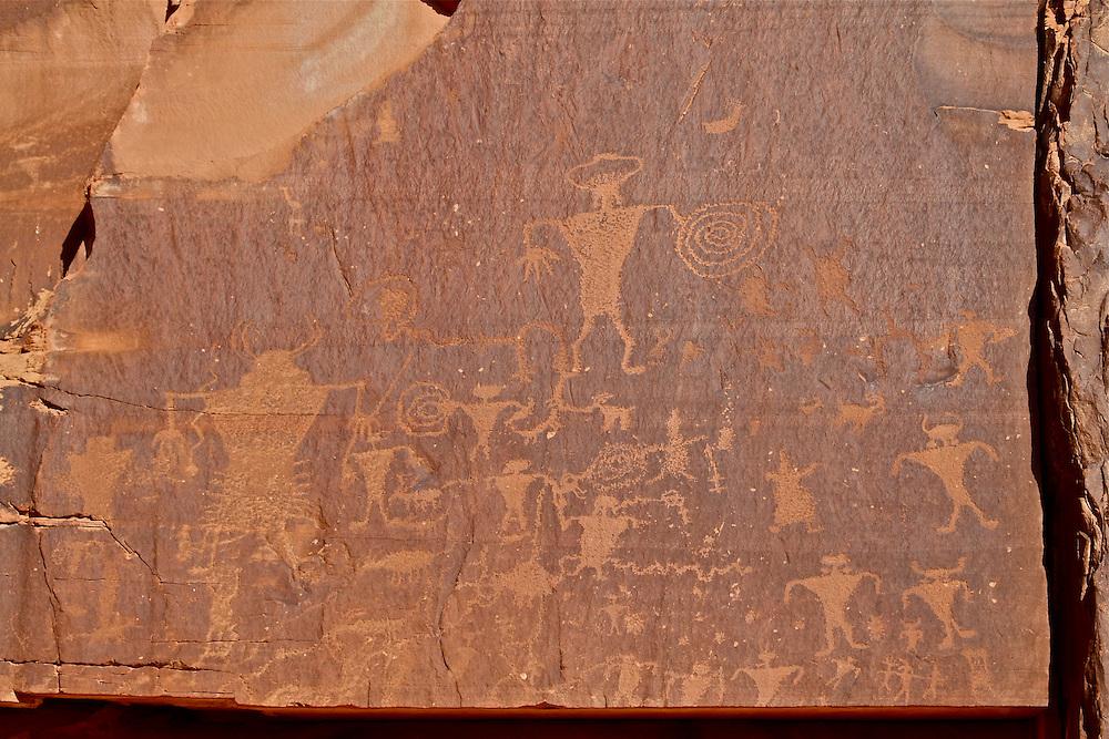 Petroglyph Panel, Utah