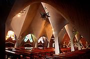 MEXICO, MEXICO CITY Church of the Miraculous Virgin