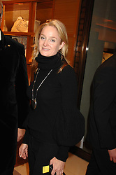 KADEE ROBBINS at a reception to launch the 2007 Louis Vuitton Christmas windows in collaboration with Central Saint Martins College of Art & Design held at 17-18 New Bond Street, London W1 on 7th November 2007.<br />