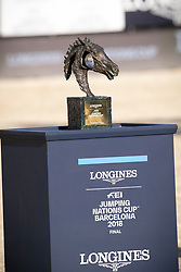 Trophy<br /> Longines FEI Jumping Nations Cup™ Final<br /> Barcelona 20128<br /> © Hippo Foto - Dirk Caremans<br /> 07/10/2018