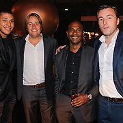 NLD/Amsterdam/20121013- LAF Fair 2012 VIP Night, Hedwiges Maduro, Rob Witschge, Aaron Winter, Richard Witschge