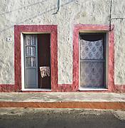 The houses in Linosa island in Sicily.<br /> Le case di Linosa in Sicilia