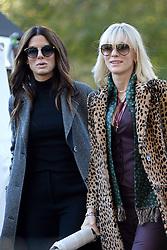 November 7, 2016 - New York, NY, USA - November 7, 2016 New York City..Sandra Bullock and Cate Blanchett on the film set of Ocean's Eight in Central Park on November 7, 2016 in New York City. (Credit Image: © Kristin Callahan/Ace Pictures via ZUMA Press)