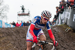 Pauline Ferrand Prevot (FRA), Women, Cyclo-cross World Cup Hoogerheide, The Netherlands, 25 January 2015, Photo by Pim Nijland / PelotonPhotos.com
