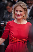 Actress Marthe Keller at the Closing Palm D'Or Awards Ceremony at the 69th Cannes Film Festival, Sunday 22nd May 2016, Cannes, France. Photography: Doreen Kennedy