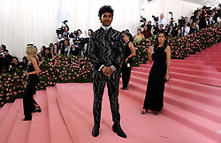 Lewis Hamilton attending the Metropolitan Museum of Art Costume Institute Benefit Gala 2019 in New York, USA.