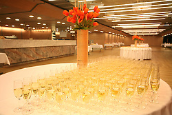 Wine at reception.  (Photo by Vid Ponikvar / Sportal Images)/ Sportida)