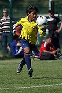 10.07.2008. K?pul?, Helsinki..Helsinki Cup 2008.D-12, Col?gio Batista Mineiro (Brasilia) - Academia Emeritense (Venezuela).©Juha Tamminen