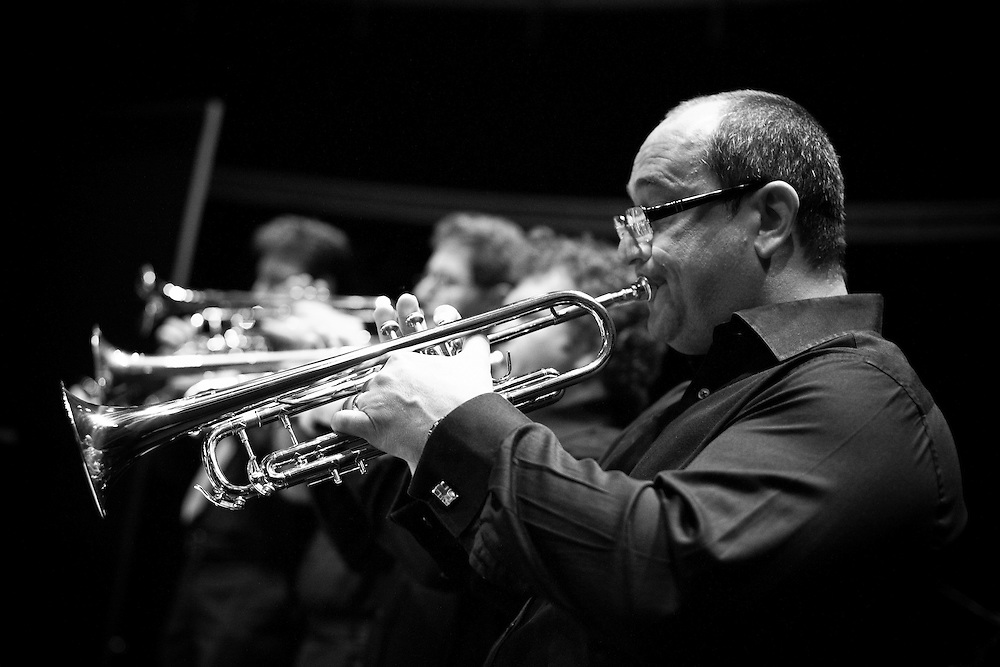 Trumpet player, Abu Dhabi Big Band, UAE