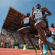 The 2013 Prefontaine Classic Track and Field meet at Hayward Field in Eugene, Oregon.