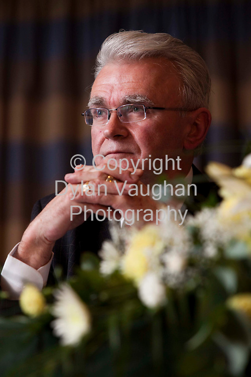23/4/2009.Liam McNamara Chairman PNA pictured at the Psychiatric Nurse's Association of Ireland 38th annual delegate conference 2009 at the Mount Wolseley Hotel in Tullow county Carlow yesterday..Picture Dylan Vaughan.