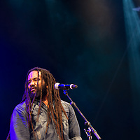 Ky-Mani Marley performing at Mela Festival in Oslo, 2011.