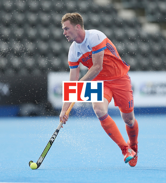 LONDON, ENGLAND - JUNE 15:  Mirco Pruijser of the Netherlands during the Hero Hockey World League Semi Final match between Netherlands and Pakistan at Lee Valley Hockey and Tennis Centre on June 15, 2017 in London, England.  (Photo by Alex Morton/Getty Images)