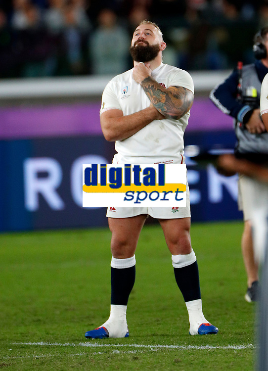 Rugby Union - 2019 Rugby World Cup - Final: England vs. South Africa<br /> <br /> Joe Marler of England after the match at International Stadium, Yokohama.<br /> <br /> COLORSPORT/LYNNE CAMERON