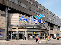 View of the Wellgate shopping centre in Dundee, Scotland, UK