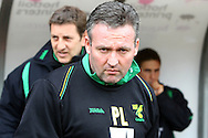 Swindon - Saturday March 20th, 2010: Norwich Manager Paul Lambert before the Coca Cola League One match at The County Ground, Swindon. (Pic by Paul Chesterton/Focus Images)