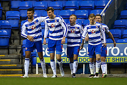 Goal, Jake Cooper of Reading scores, Reading 1-0 Hull City - Mandatory byline: Jason Brown/JMP - 07966 386802 - 19/04/2016 - FOOTBALL - Madejski Stadium - Reading, England - Reading v Hull City - Sky Bet Championship