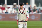 Tom Abell of Somerset during the Specsavers County Champ Div 1 match between Somerset County Cricket Club and Middlesex County Cricket Club at the Cooper Associates County Ground, Taunton, United Kingdom on 26 September 2017. Photo by Graham Hunt.