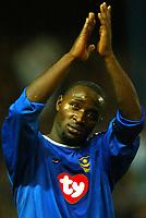 Fotball<br /> Premier League England 2004/2005<br /> 18.10.2004<br /> Foto: BPI/Digitalsport<br /> NORWAY ONLY<br /> <br /> Portsmouth v Tottenham Hotspur<br /> <br /> Lomana Lua Lua of Portsmouth