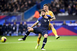 November 14, 2019, Paris, France, France: Olivier Giroud (Fra) vs Veaceslav Posmac  (Credit Image: © Panoramic via ZUMA Press)