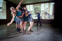 photograph ©2014 tom wagner<br /> sitelab at Morton. Dance in the Annex, artprize 2014. morton hotel. grand rapids, Mi