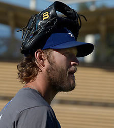 June 20, 2017 - Los Angeles, California, U.S. - Los Angeles Dodgers' Clayton Kershaw prior to a Major League baseball game against the New York Mets at Dodger Stadium on Tuesday, June 20, 2017 in Los Angeles. (Photo by Keith Birmingham, Pasadena Star-News/SCNG) (Credit Image: © San Gabriel Valley Tribune via ZUMA Wire)