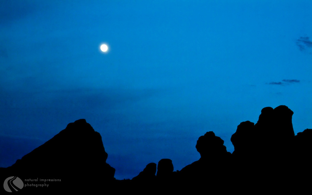 Arches National Park Utah, The Moon