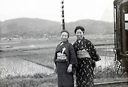 domestic tourism Japan 1950s