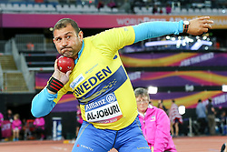 22.07.2017, Olympia Stadion, London, GBR, Leichtathletik WM der Behinderten, im Bild Mohammad Al-Joburi (SWE, F42) // Mohammad Al-Joburi (SWE, F42) // during the World Para Athletics Championships at the Olympia Stadion in London, Great Britain on 2017/07/22. EXPA Pictures © 2017, PhotoCredit: EXPA/ Eibner-Pressefoto/ Eibner-Pressefoto<br /> <br /> *****ATTENTION - OUT of GER*****