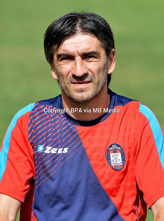 Italian League Serie B_2015-2016 / <br /> ( Fc Crotone ) - <br /> Ivan Juric - DT Fc Crotone