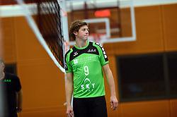 22-10-2014 NED: Selectie SSS seizoen 2014-2015, Barneveld<br /> Topvolleybal SSS Barneveld klaar voor het nieuwe seizoen 2014-2015 / Michiel van de Beek