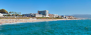 Redondo Beach; CA;  Condominiums,  Panorama; Torrance Beach; Pier; Surf; Sand; Ocean Waves;