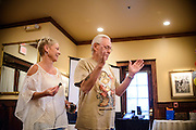 Photo by Matt Roth<br /> <br /> Grandpa Roth's 80th birthday party Centennial, Colorado on Saturday, August 10, 2013